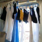 洗濯物1人暮らしほどたたまない